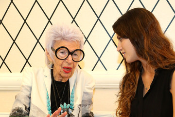 Iris Apfel HSN Fall Fashion Lounge