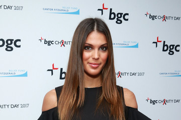 Iris Mittenaere Annual Charity Day Hosted By Cantor Fitzgerald, BGC and GFI - BGC Office - Arrivals