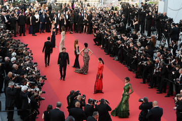 Iris Mittenaere 'The Beguiled' Red Carpet Arrivals - The 70th Annual Cannes Film Festival