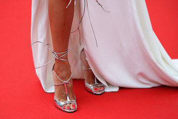 Iris Mittenaere 'Sorry Angel (Plaire, Aimer Et Courir Vite)' Red Carpet Arrivals - The 71st Annual Cannes Film Festival