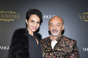 Christian Louboutin and Farida Khelfa Photos Photo
