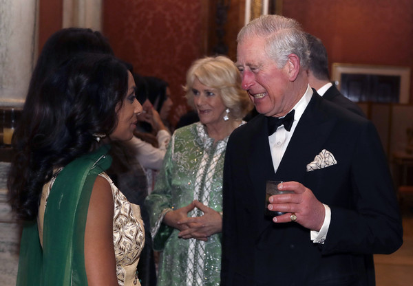 The Prince Of Wales And Duchess Of Cornwall Host A British Asian Trust Dinner At Buckingham Palace [event,charles,isa guha,plans,scale,buckingham palace,prince of wales,duchess of cornwall,prince of wales,british asian trust dinner,event]