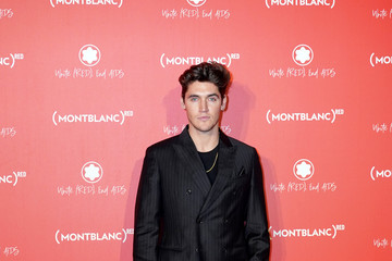 Isaac Carew Montblanc: (Red) Launch Dinner And Party
