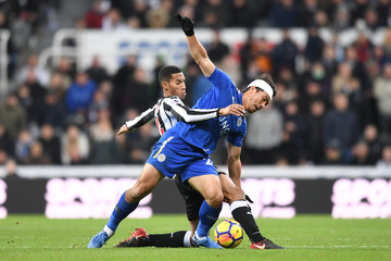 Isaac Hayden Newcastle United v Leicester City - Premier League