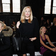 Isabel Adrian Leila Shams - Front Row - Mercedes-Benz Fashion Week Fall 2014