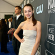 Isabella Justice Hartley 25th Annual Critics' Choice Awards - Red Carpet