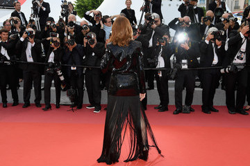 Isabelle Huppert 'Sink Or Swim (Le Grand Bain)' Red Carpet Arrivals - The 71st Annual Cannes Film Festival