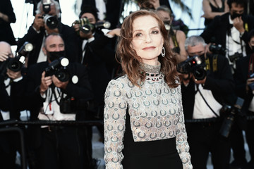 Isabelle Huppert Alternative View In Colour - The 74th Annual Cannes Film Festival