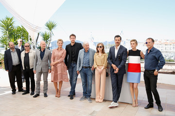 Isabelle Huppert Laurent Lafitte 'Elle' Photocall - The 69th Annual Cannes Film Festival