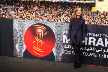Isabelle Huppert 'La Ritournelle' Screening in Marrakech