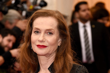 Isabelle Huppert Red Carpet Arrivals at the Met Gala — Part 3