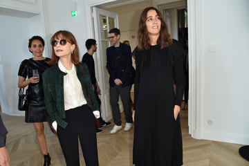 Isabelle Huppert 'Femininities' - Guy Bourdin Inaugural Exhibition and Unveiling of Maison Chloe - Paris Fashion Week