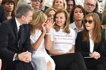 Isabelle Huppert Front Row at Christian Dior