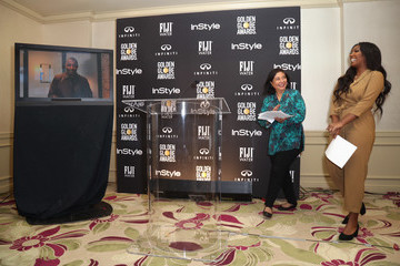 Isan Elba The Hollywood Foreign Press Association (HFPA) And InStyle 2019 Golden Globe Ambassador Reveal Press Conference