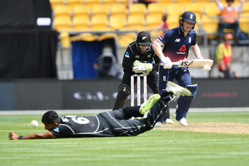 Ish Sodhi New Zealand Vs. England - 3rd ODI