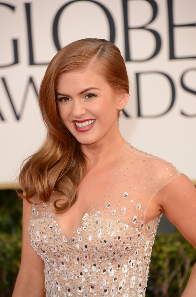 Isla Fisher - 70th Annual Golden Globe Awards - Arrivals
