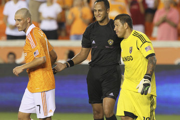 Ismail Elfath Real Salt Lake v Houston Dynamo
