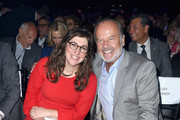 Mayim Bialik (L) and Kelsey Grammer attend the 70th Anniversary of Israel celebration in Los Angeles on Sunday, June 10, 2018.
