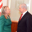 Hillary Clinton and Benjamin Netanyahu Photos