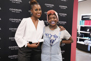 Issa Rae Meet And Greet At The COVERGIRL Store In Times Square NYC