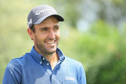 Edoardo Molinari of Italy in action during the Pro Am event prior to the start of the Italian Open at Gardagolf Country Club on May 29, 2018 in Brescia, Italy.
