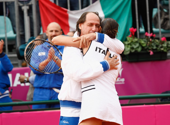 Italy v USA - Fed Cup World Group Final Day One