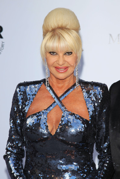Ivana Trump Pictures Amfar Gala Red Carpet Arrivals