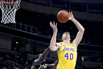 Ivica Zubac Los Angeles Lakers v Golden State Warriors