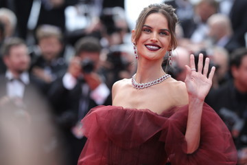 Izabel Goulart 'Oh Mercy! (Roubaix, Une Lumiere)' Red Carpet - The 72nd Annual Cannes Film Festival