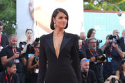 "Sofia Resing walks the red carpet ahead of the ""J'Accuse"" (An Officer And A Spy) screening during the 76th Venice Film Festival at Sala Grande on August 30, 2019 in Venice, Italy."