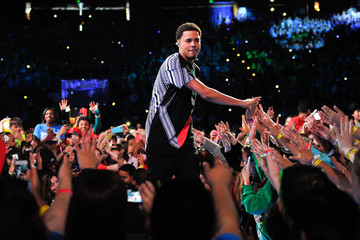 J. Cole We Day California at Oracle Arena