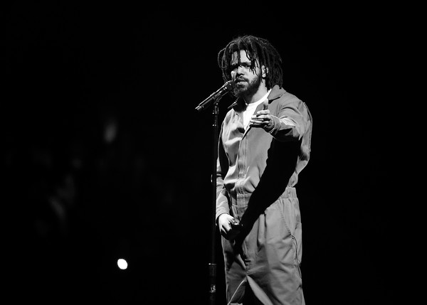 J cole performs in concert brooklyn new york