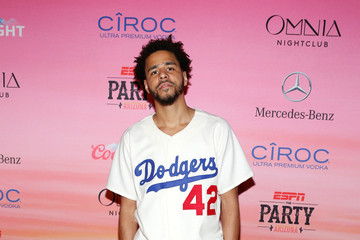J. Cole ESPN The Party - Arrivals