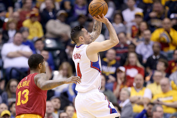 J.J. Redick Los Angeles Clippers v Indiana Pacers
