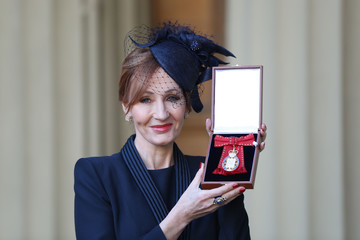 J.K. Rowling Investitures at Buckingham Palace