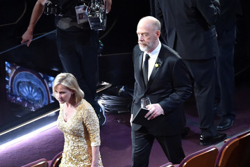 J.K. Simmons Michelle Schumacher 88th Annual Academy Awards - Show