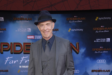 J.K. Simmons Premiere Of Sony Pictures' 'Spider-Man Far From Home'  - Arrivals