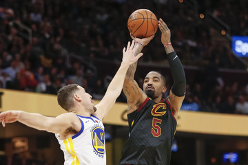 J.R. Smith Golden State Warriors v Cleveland Cavaliers