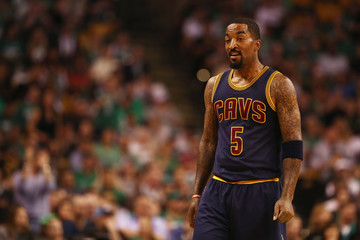 J.R. Smith Cleveland Cavaliers v Boston Celtics - Game One