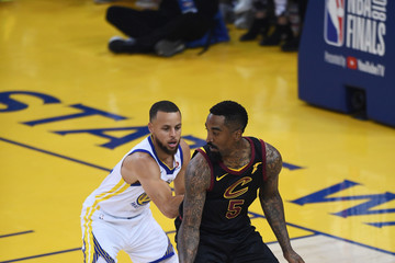 J.R. Smith 2018 NBA Finals - Game One