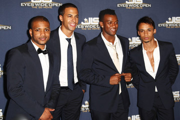 JB JLS Eyes Wide Open - Premiere