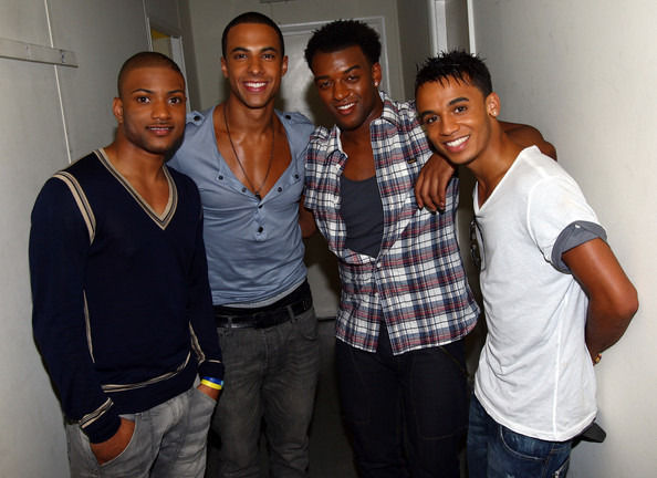 "(L-R) Jonathan ""JB"" Gill, Marvin Humes, Oritse Williams and Aston. JLS"