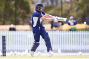 Cameron White of Victoria bats during the JLT One Day Cup match between Victoria and Tasmania at Junction Oval on October 10, 2018 in Melbourne, Australia.