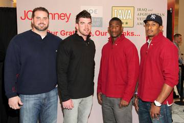 """Corey Webster Antrel Rolle JOE Joseph Abboud, JCPenney, and IAVA Celebrate """"Welcome Home Joe"""" with """"Combat to Career"""" Event to Benefit Veterans"""