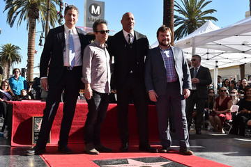 Jack Black Dwayne Johnson Honored With Star on the Hollywood Walk of Fame