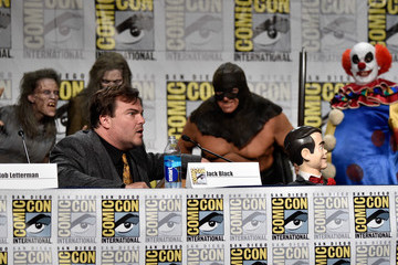 Jack Black Paramount Studios Presentation at Comic-Con