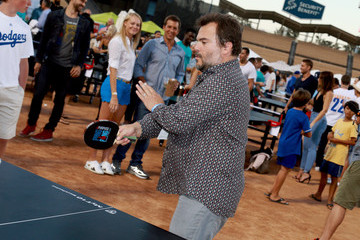 Jack Black Clayton Kershaw's 5th Annual Ping Pong 4 Purpose Celebrity Tournament