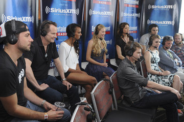 Jack Coleman SiriusXM's Entertainment Weekly Radio Channel Broadcasts from Comic-Con 2015