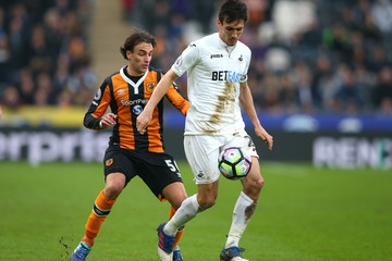 Jack Cork Hull City v Swansea City - Premier League