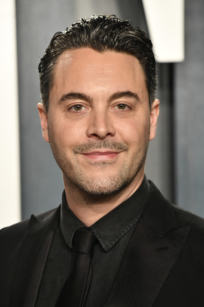 2020 Vanity Fair Oscar Party Hosted By Radhika Jones - Arrivals [hair,face,forehead,eyebrow,hairstyle,chin,facial hair,white-collar worker,beard,jaw,radhika jones - arrivals,radhika jones,jack huston,beverly hills,california,wallis annenberg center for the performing arts,oscar party,vanity fair,jack huston,oscar party,vanity fair,actor,just jared,photography]